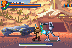 Screenshot: Episode III: Revenge of the Sith (GBA)