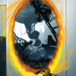 Ein Potal aus Portal 2