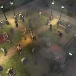 Auf dem Friedhof werden die vier Überlebenden umzingelt