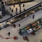 Zombies folgen der Blutspur, die Verletzte hinterlassen